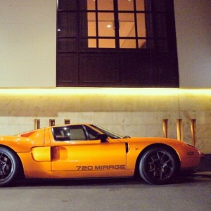 @supercar_photography #fordgt tuned by #mirage #720bhp #orange #black #fourwheelporn