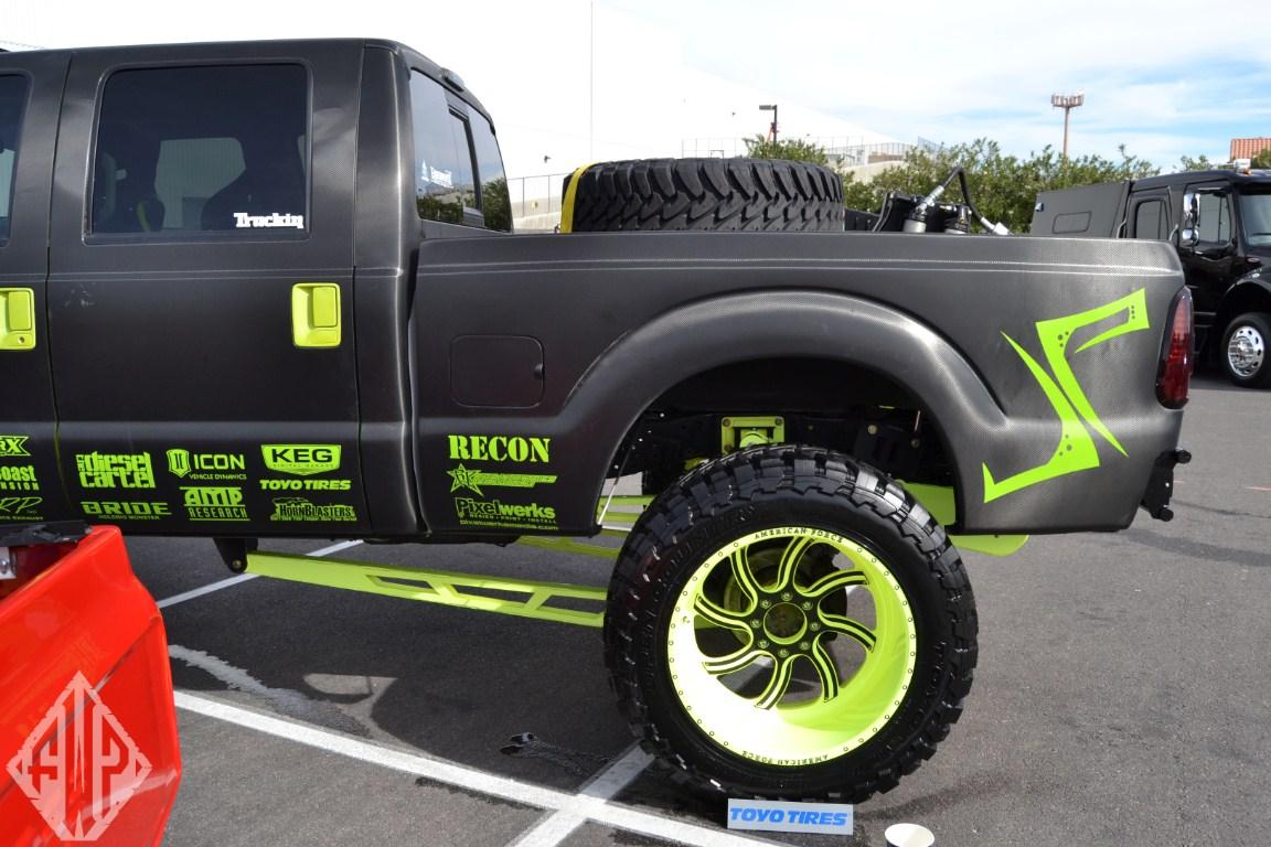 Full Force Diesel >> Trucks from Sema 2013