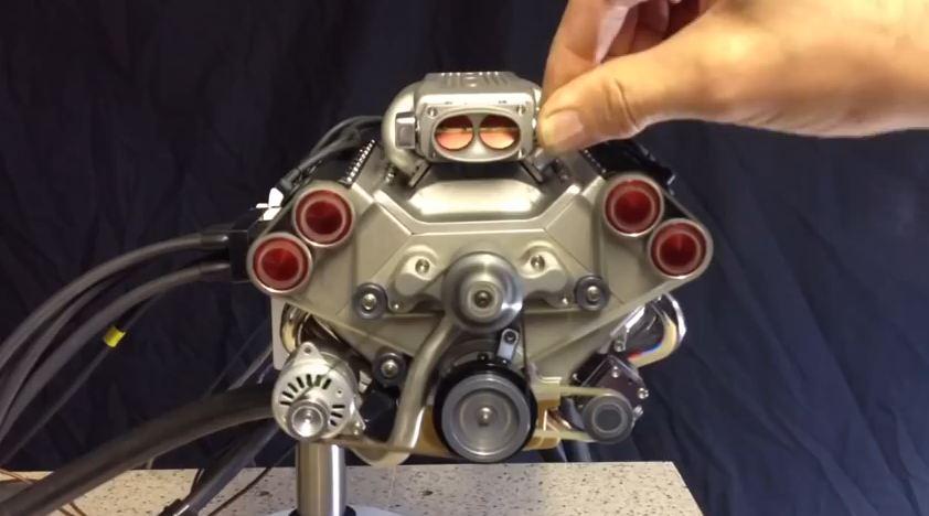 Mini V8